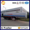 widely used made in Chian crude oil tanker semi trailer