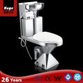 2015 foshan kuge acero inoxidable higiénico wc, Kindergarden higiénico