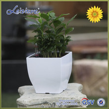 """Alibaba TOP 1 pot supplier"" interior decoration small plastic flower pot, Home garden"