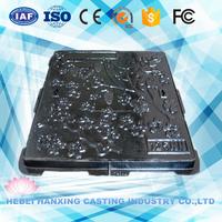 B125 C250 D400 E600 F900 Square Nodular Cast Iron Manhole Covers