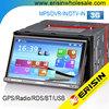 "HD 2 Din 7"" Win8 UI Car Sat Nav 3G Bluetooth DVD iPhone DVR USB RDS ES7051M"
