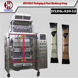 DXD-320 Automatic Stick Packaging Machine, Multi-lane, stick sachet for granule, powder, sauce, sugar, pepper, salt, protein