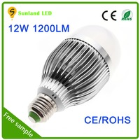 New product promotion CE ROHS SMD5730 AC85~265 12W led e27
