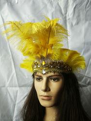 Beautiful Stylish Feather Headdress Crown