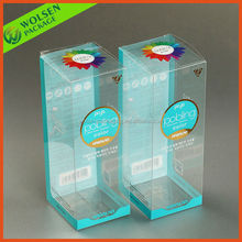2015 China customized clear PVC boxes for gift