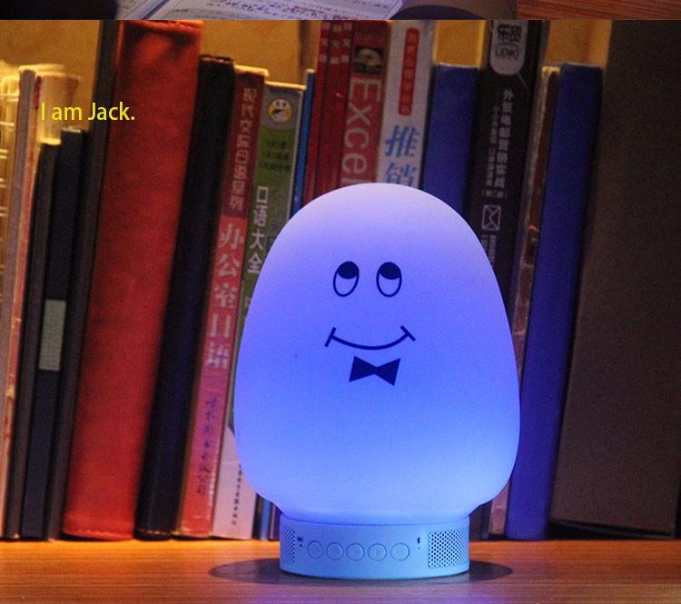 New products mini speaker custom night light projector bluetooth mini speaker
