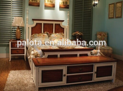 Muebles para el hogar cama queen size muebles juego de for Juego de dormitorio queen