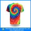 2015 china wholesale summer men rainbow t shirt tie dye