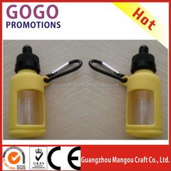 Promotional 10ml or 30ml anti-skip silicone e liquid bottle holder in Malaysia