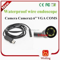 5.5mm Micro USB Industrial Endoscope Camera for android