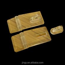 Usine meilleures ventes petite acrylique boîte de verrouillage hasp