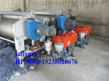 used clothes textile rag tearing and recycling machine