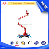 walking and collapsible lift table mobile aerial platform cheap residential lift elevator
