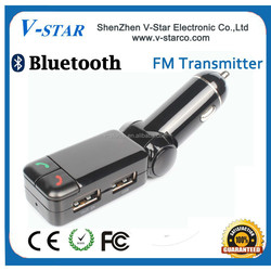 2015 New Bluetooth Car FM Transmitter Wireless MP3 Player Car ,Remote Control FM Transmitter