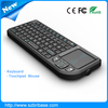 High quality with low price Mini Wireless Keyboard with Touchpad for PC TV Box and Tablet