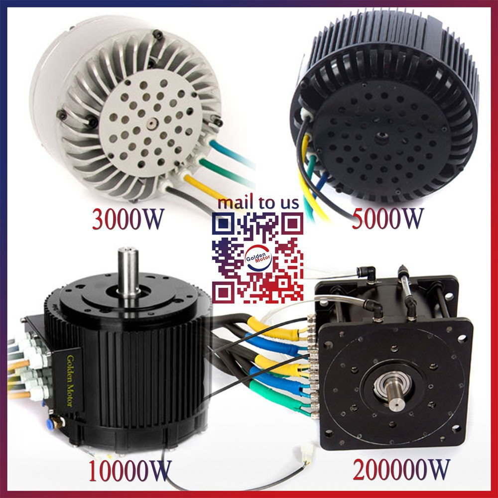 3kw 5kw 10kw 20kw High Power Brushless Dc Bldc Motor
