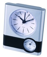 Hot promotion plastic table clock for home /office decoration