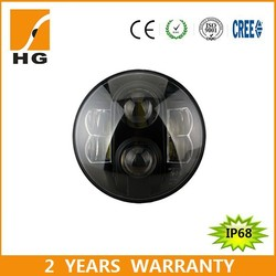 7inch LED Headlight for Harley Jeep Emark High Low Beam LED Head Light(HG-838A)