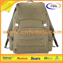 Factory outlets waterproof notebook backpack,canvas hiking backpack