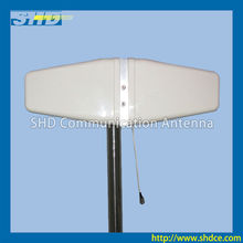 806-960/1710-2500MHz Dual Directional Log-periodic GSM WCDMA CDMA Antenna with 5.5 / 6.5dBi