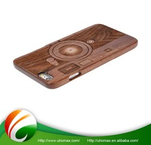 Highest Quality Custom Color For Iphone 5 Plastic Wood Case