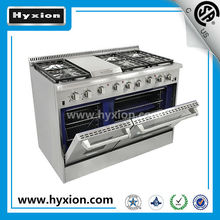 Hyxion Brand cooking range parts gas cooktops cooking range gas oven