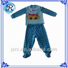 wholesale baby pajamas set infant christmas pajamas with embroidery custom baby pajamas with hood