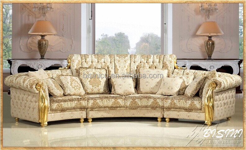 english romantic furniture bright color classic sectional sofa