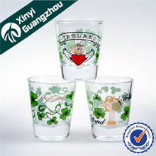 vidrio taza mini copa agua potable copa licor vaso