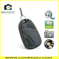 Cheap hidden car key camera 808 car keys micro camera