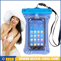 Alibaba express PVC water proof bag waterproof case for asus zenfone 2