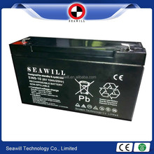 Rechargeable storage battery 6v 10Ah battery
