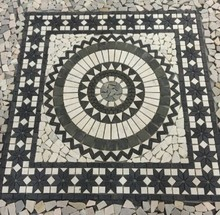 Popular Decoration High Quality Black and White Mosaic