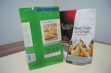 resealable microwave hot roast chicken bag