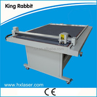 Rabbit drwaing and cutting two fuctions 2mm cardboard cutter table cutting plotter