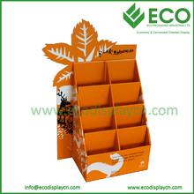 Folding Cardboard Brochure Display Stands