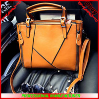 Hot seling lady handbag leather office bags for women
