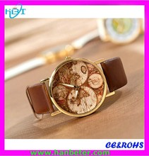 Simple style quality best cheap custom 2012 best couple watches movement wholesale