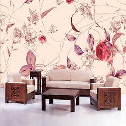 Popular handmade natural nude wall murals wallpaper design