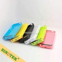 SINOTEK rechargeable battery cover case 4200mAh power charger case for iphone 5S 5C 5
