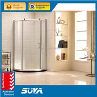 8mm sliding door portable toilet and shower room