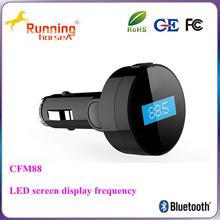 Low power car usb flash mp3 player bluetooth fm transmitter