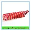 Red zipper pencil pouch pen bag