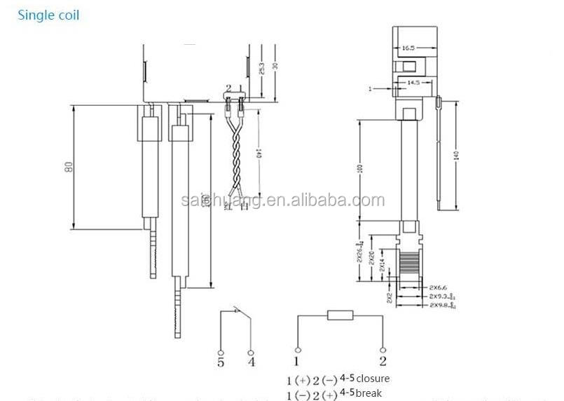 Wiring Diagram For A Latching Relay : Pin latching relay wiring diagram socket