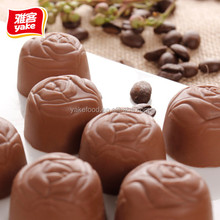 Wonderful sweet chocolate with rose shape and good price