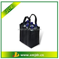 Wholesale Foldable PP Non Woven Bottle Bag