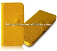For new iphone5 5g ShowKoo self design Wallet Leather+ TPU edge with Credit ID Card Holder