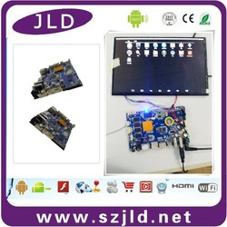 JLD high tech new android pcb board with 10.1'' lcd monitor/Touch panel cheap price