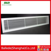 Aluminum linear slot air conditioner ceiling return air grille