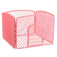 environmentally friendly non-toxic plastic foldable puppy pet play kennel